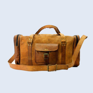 Unisex-Genuine-Luggage-Duffle-Gym-Tote-Overnight-Weekend-Holdall (1)