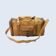 Unisex-Genuine-Luggage-Duffle-Gym-Tote-Overnight-Weekend-Holdall (2)