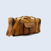 Unisex-Genuine-Luggage-Duffle-Gym-Tote-Overnight-Weekend-Holdall (4)