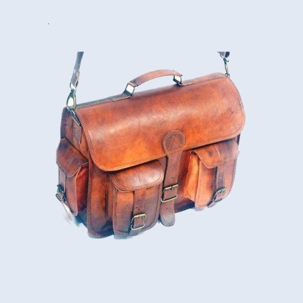 Vintage-Brown-Messenger-Bag-Men's-Shoulder-Laptop-Bag-Briefcase-Satchel1